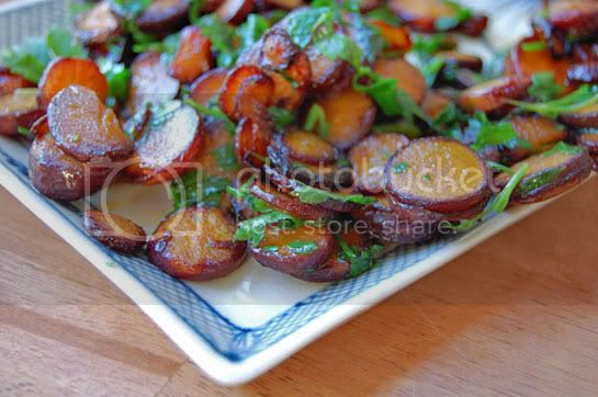Pan Braised Carrots