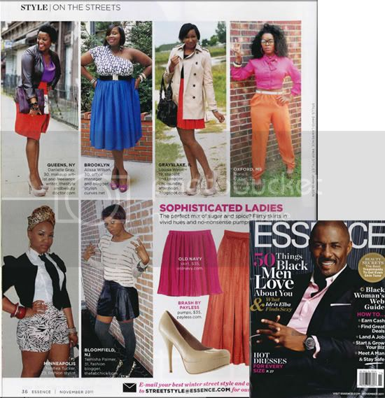 Essence Magazine November issue