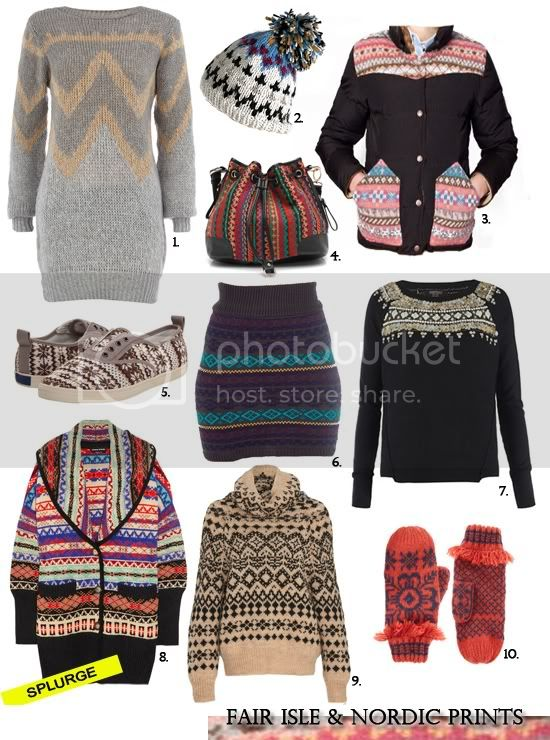 Fair Isle and Nordic prints
