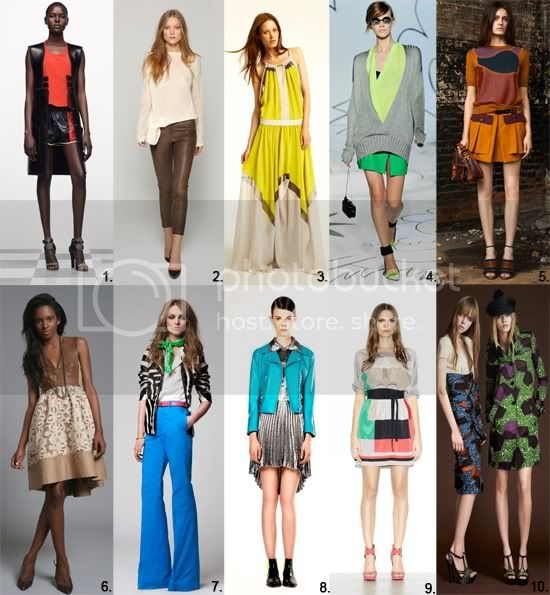 Resort 2012 Fashion Picks
