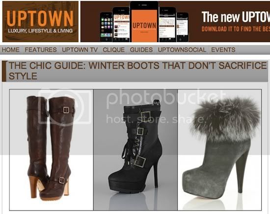 Uptown Magazine-Chic Winter Boots