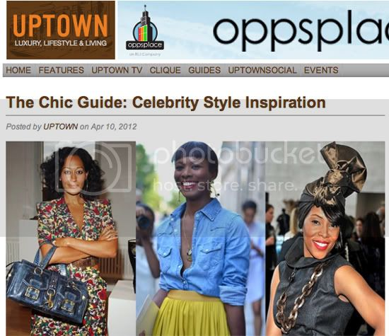 Uptown Magazine - The Chic Guide : Celebrity Style Inspiration