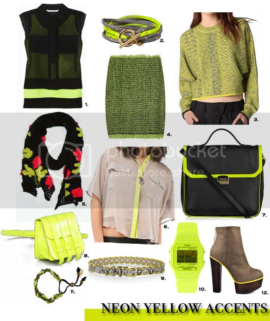 Neon Yellow accents