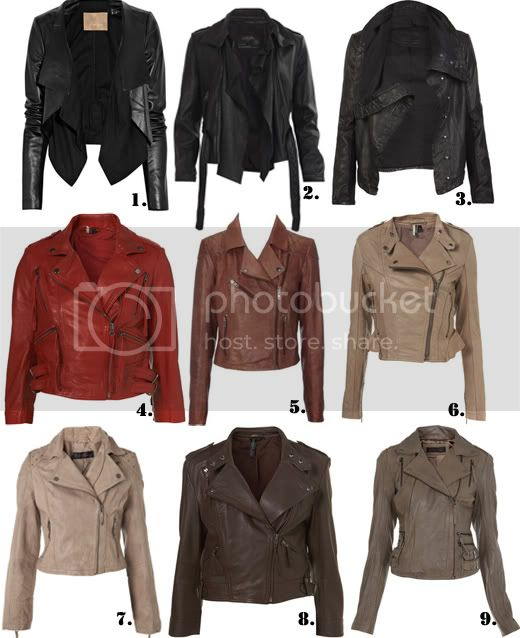Spring Leather Jacket options